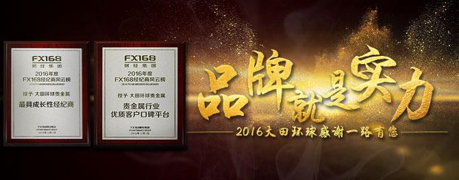 2016年奖项专题