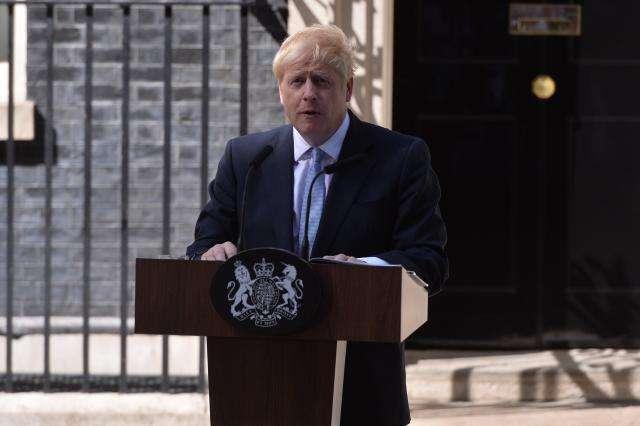 黄绍山:约翰逊就任英国新首相