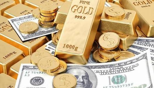 美元稍有反彈 黃金大幅回落